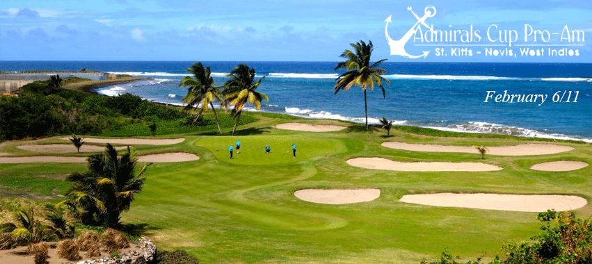 NOTIZIA DEL MESE:  6TH ANNUAL ADMIRAL'S CUP PRO AM - St.kitts & Navis